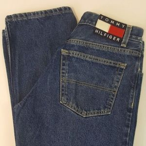 Tommy Hilfiger Womens Mom Jeans 7 28 Straight